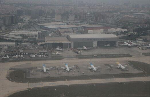 Непогода в Одессе устроила нервотрепку сразу четырем самолетам