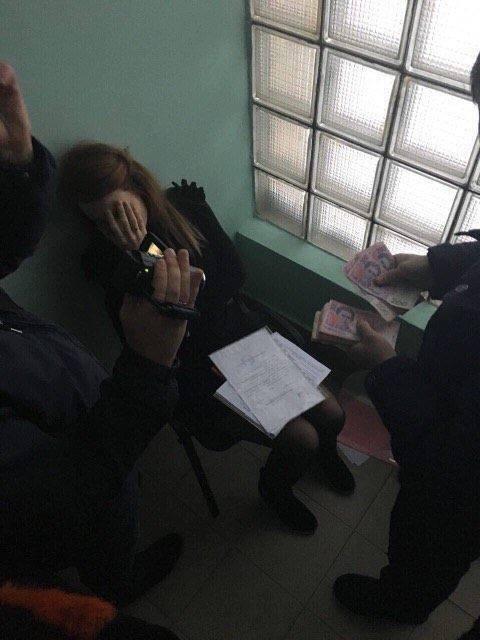 Задержание на взятке в столичной мэрии