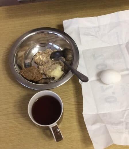 Завтрак в родильном доме