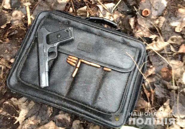 Задержанные признались, где спрятали оружие и патроны