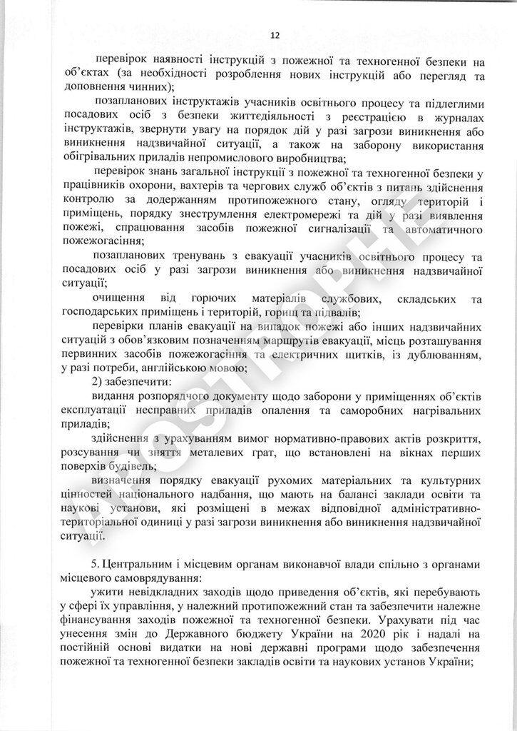 Отчет комиссии Кабмина о причинах пожара в Одессе