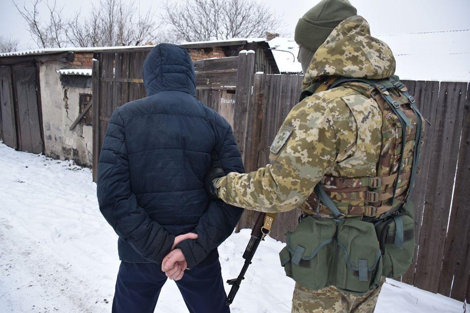 """На Донеччині затримано терорист """"ДНР"""", який охороняв місце падіння МН-17"""