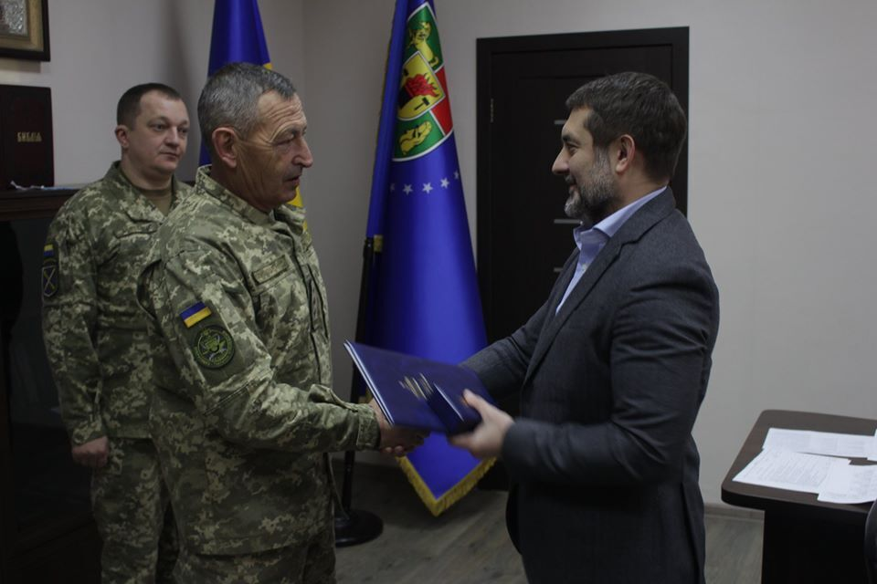 Кращі військовослужбовці отримали відзнаки Верховної Ради
