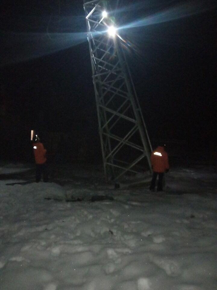 На Львовщине 32 человека застряли на горном подъемнике