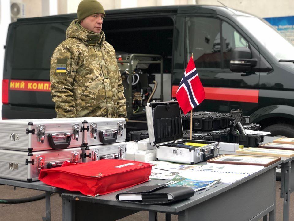 Прикордонники отримали обладнання з Норвегії