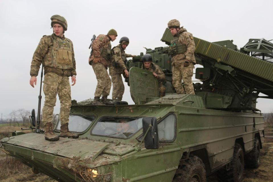 На Луганщині відбулися навчання зенітників