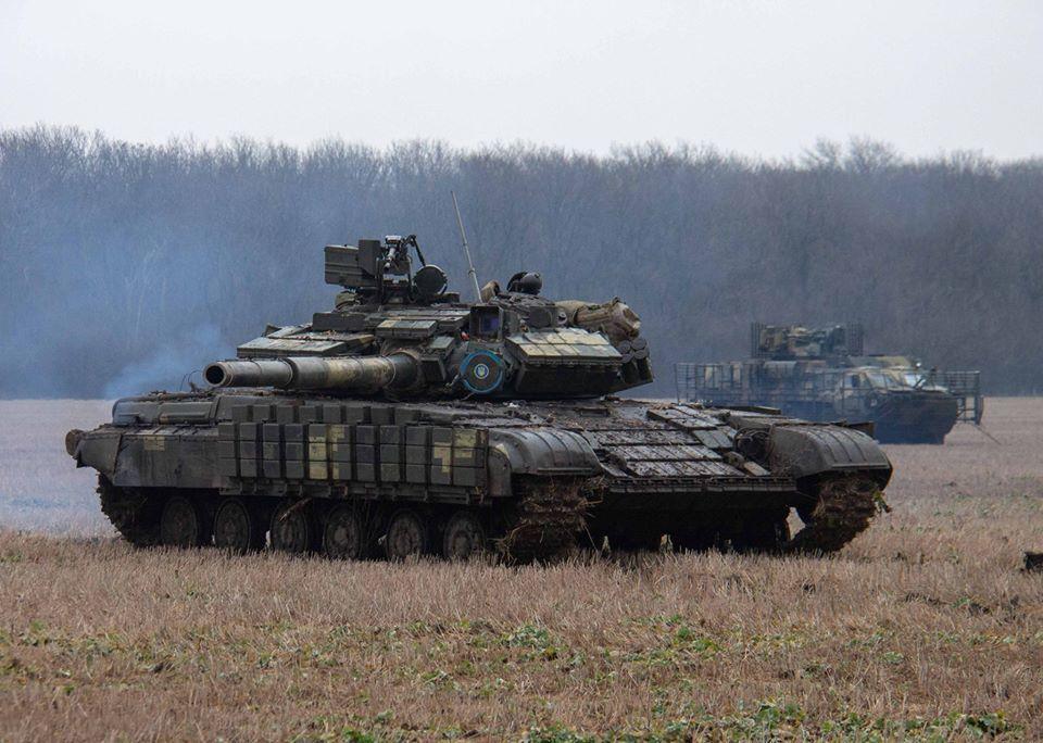 В районі відведення важкого озброєння була проведена раптова перевірка готовності протитанкових і танкових підрозділів