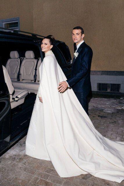 Появилось первое фото со свадьбы Даши Жуковой и Ставроса Ниархоса photo
