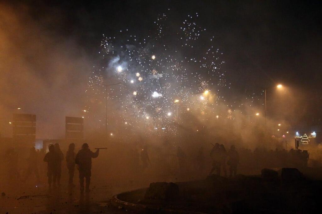 Акція протесту в Бейруті