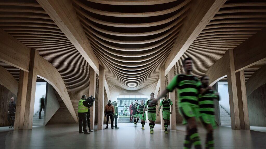 Проект стадиона в Глостершире