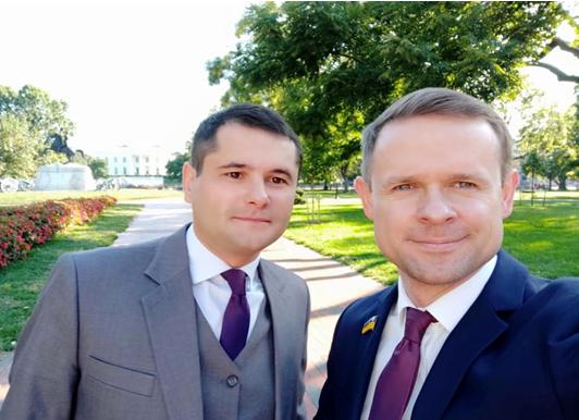 На фото - Александр Ткаченко и Иван Шинкаренко