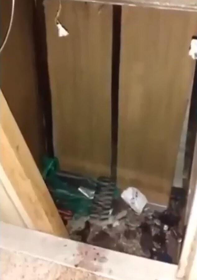 Рухнувший лифт