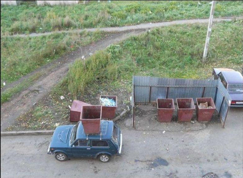 Якою буває помста за неправильну парковку
