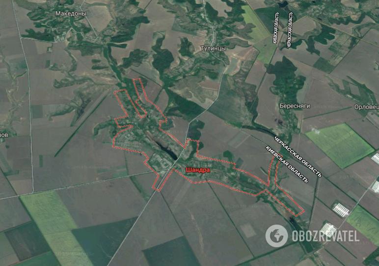 ДТП произошло в с. Шандра Мироновского района