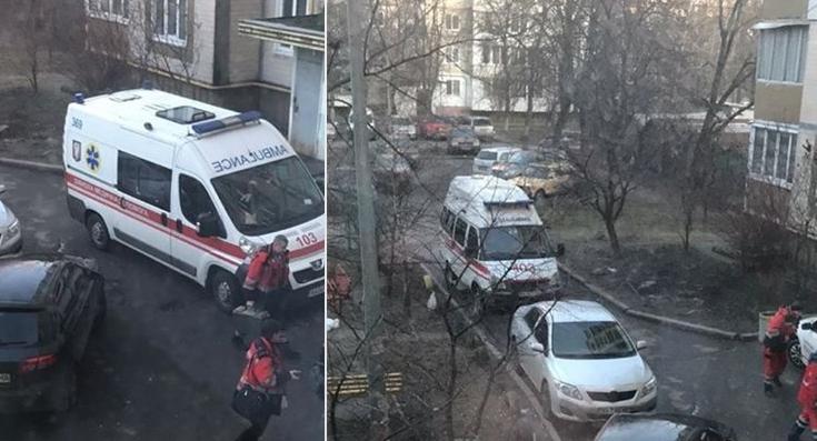 У Києві чоловік напав із ножем на батьків