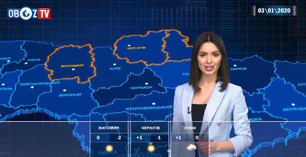 Визирне сонце: прогноз погоди в Україні на 3 січня від ObozTV