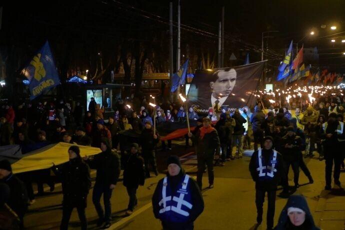 В Киеве отпраздновали День рождения Бандеры