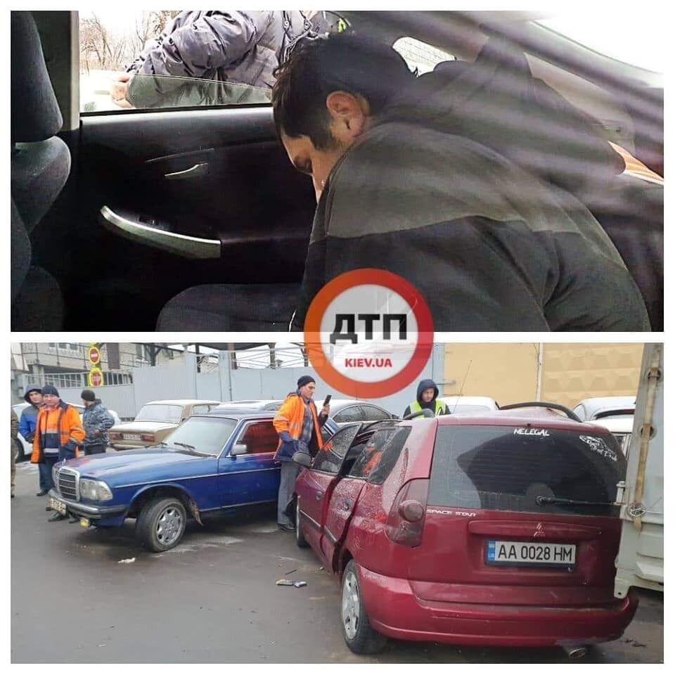 ДТП на проспекті Науки в Києві