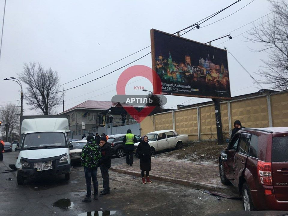 ДТП на проспекті Науки у Києві