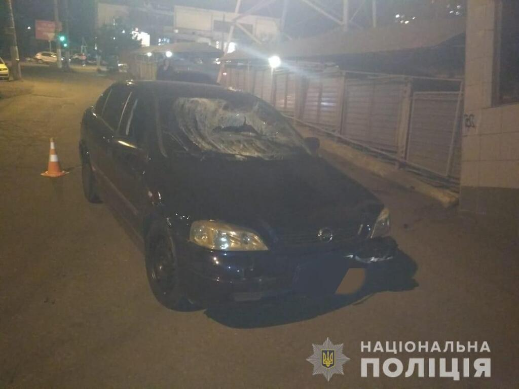 Пьяный коп сбил родителей на глазах ребенка в Одессе