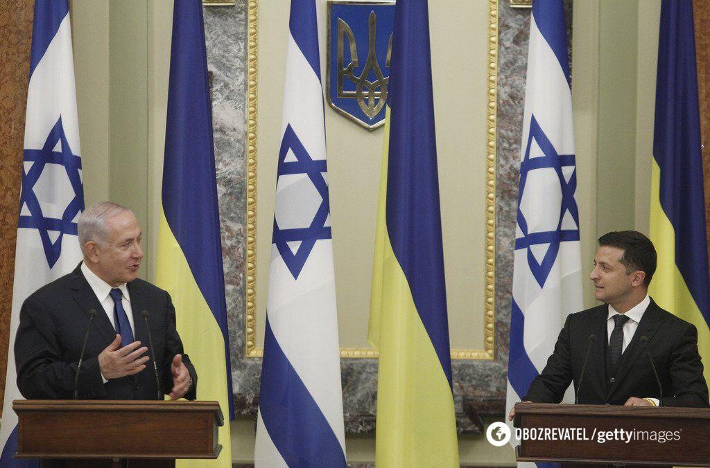 Зеленський і Нетаньягу в Києві