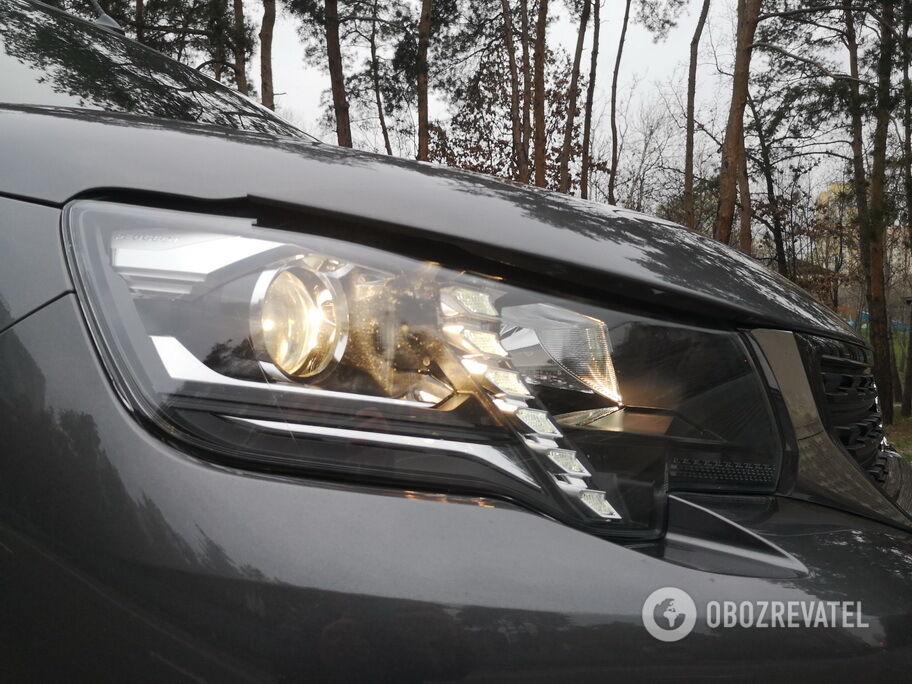 Peugeot Rifter получил выразительные фары со светодиодными ДХО и функцией подсветки поворотов