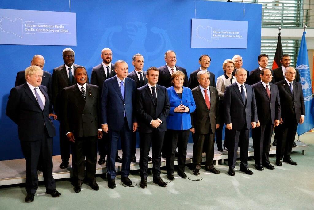 Путин опоздал на конференции по ситуации в Ливии