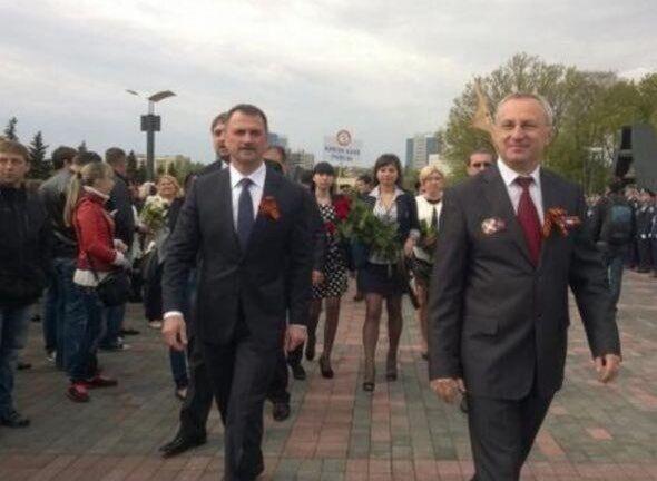 """Игорь Сагунов на митинге """"ДНР"""""""
