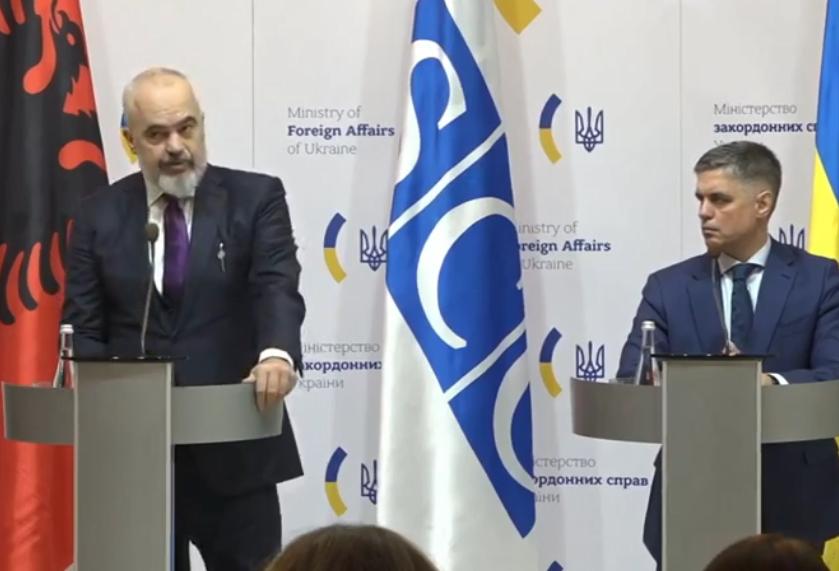 Вадим Пристайко и Эди Рама