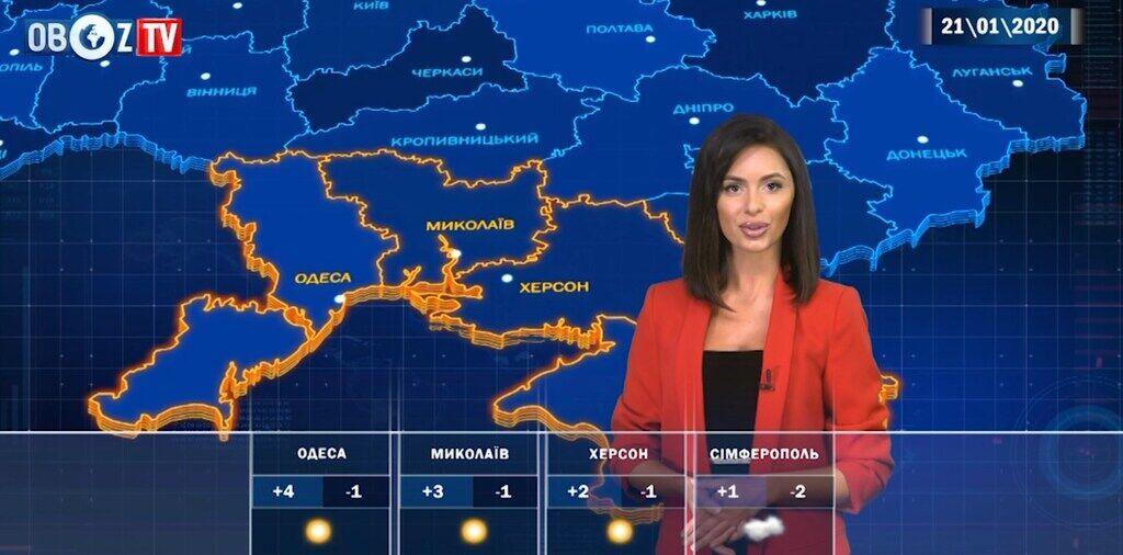 Тепло і без снігу: прогноз погоди на 21 січня від ObozTV