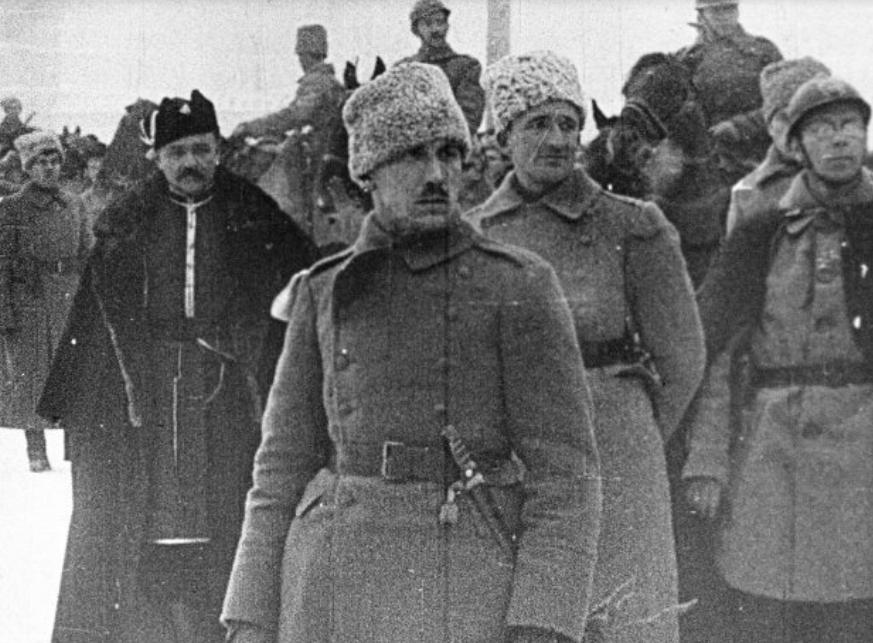 Полковник Українських січових стрільців Євген Коновалець