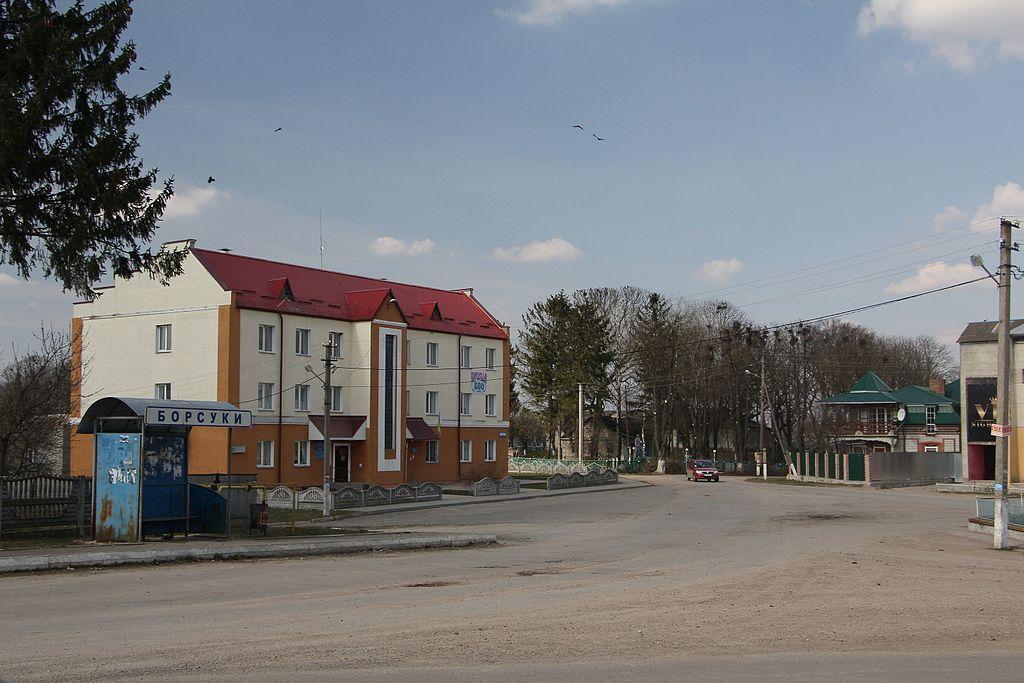 Село Борсуки в Тернопольской области