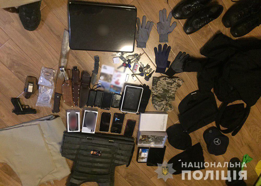 В Киеве спецназ накрыл вооруженную банду