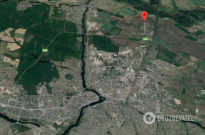 ДТП сталося поряд із селищем Десна