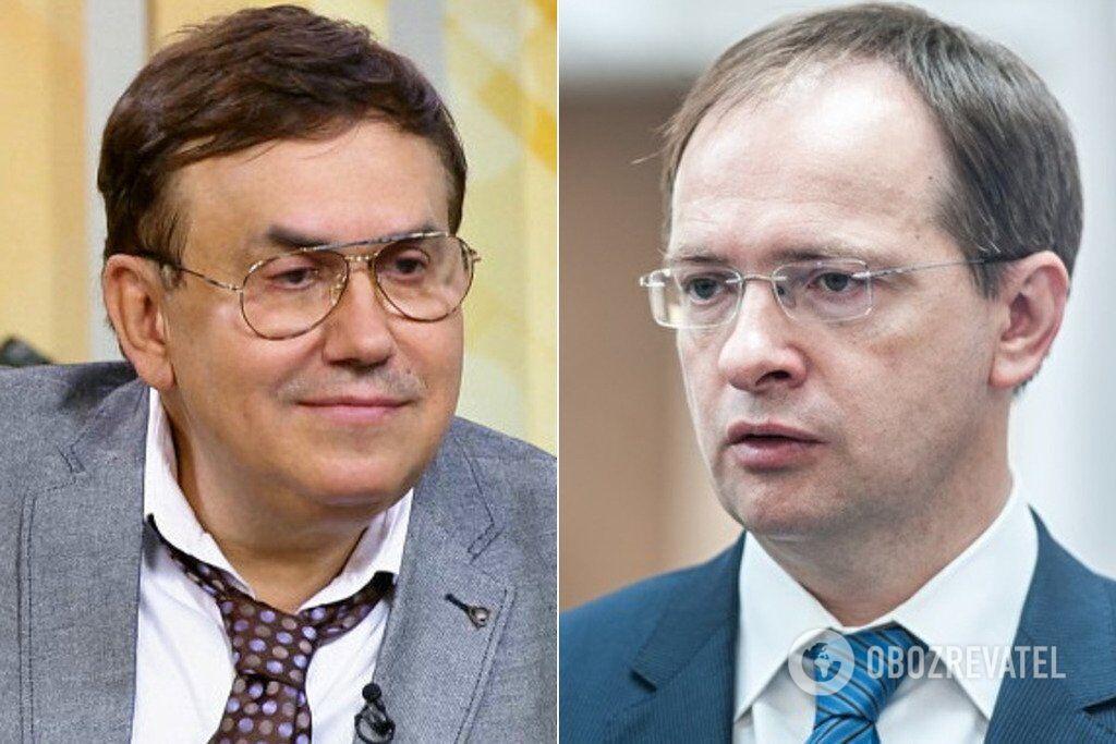 Станіслав Садальський та Володимир Мединський