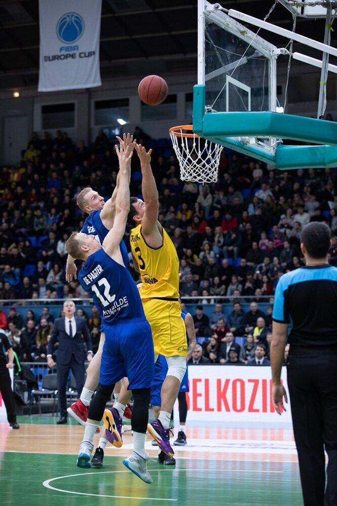 Киев-Баскет - Зволле