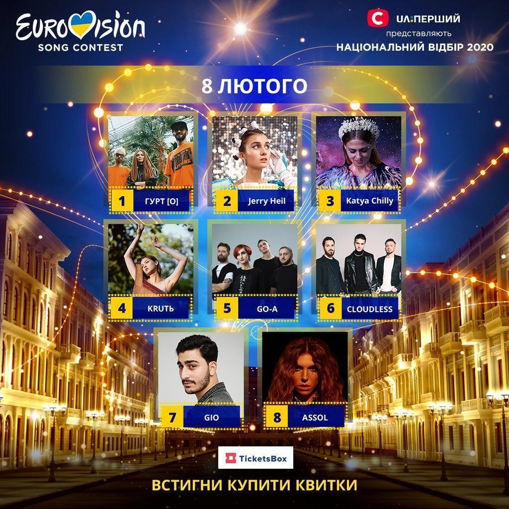 Нацотбор на Евровидение-2020