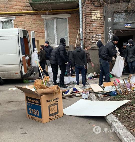 Противостояние в хостеле на ул. Кустанайской, 7 в Киеве
