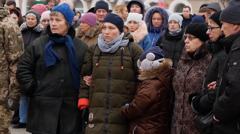 В Белой Церкви попрощались с бойцом ВСУ