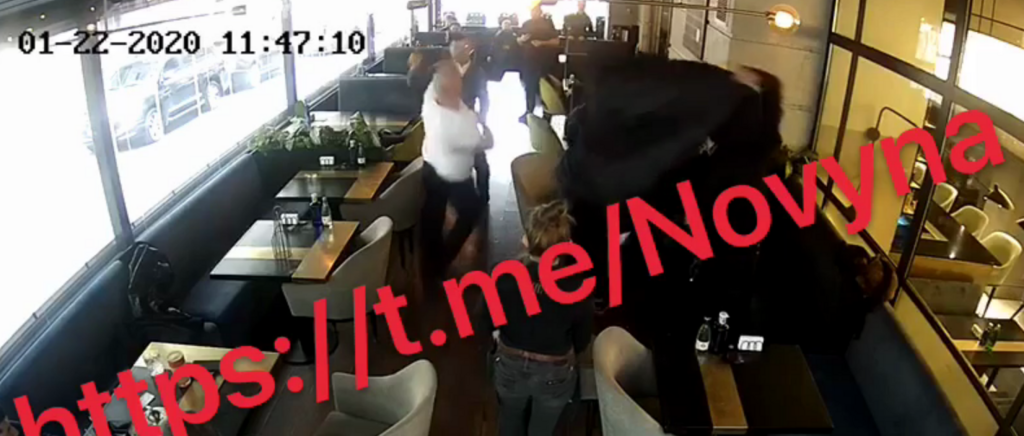 Кива набросился на посетителя ресторана