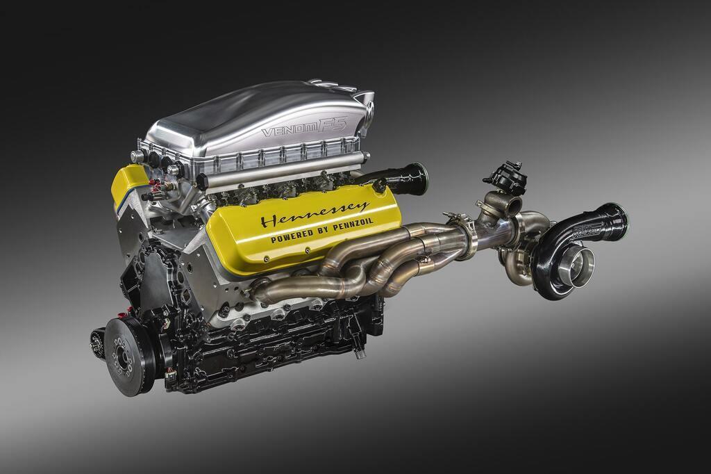 Hennessey Venom F5 отримав 6,6-літровий V8 потужністю 1817 к.с.