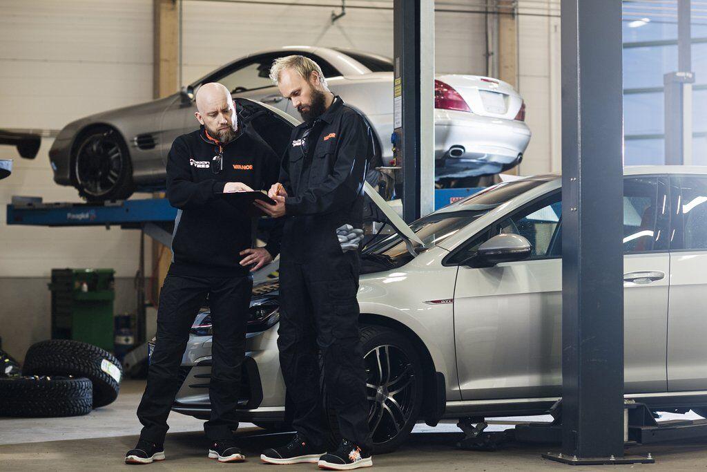 В шинном центре Vianor автовладелец сможет проверить техническое состояние автомобиля и устранить возможные неполадки