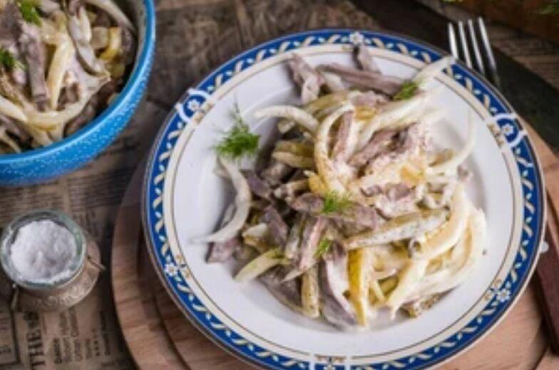 Рецепт незвичайного, але дуже смачного салату