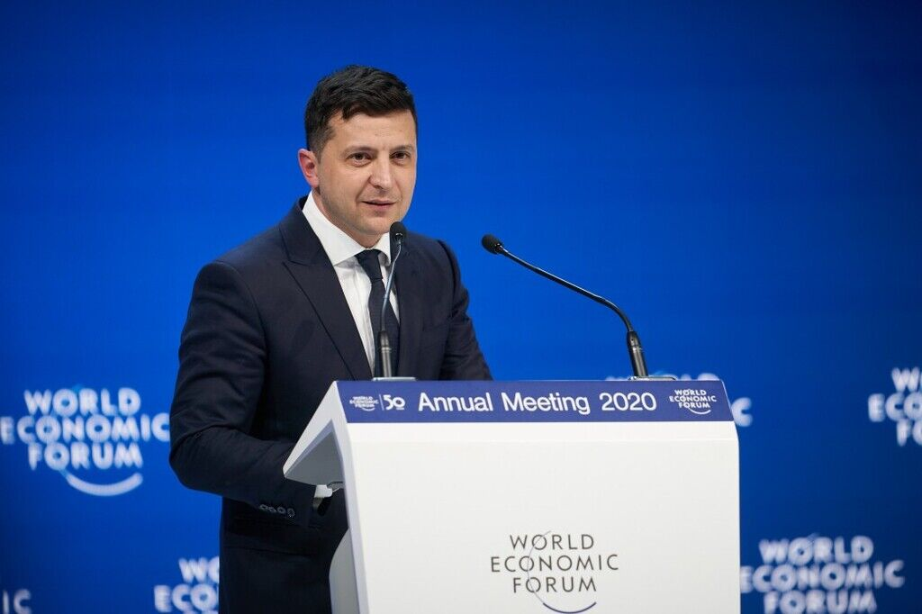 Зеленського розкритикували за промову в Давосі