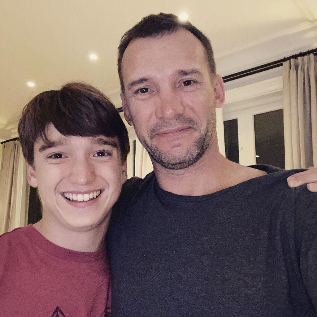 Джордан та Андрій Шевченко