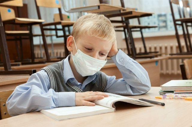 Карантин в школах Украины из-за гриппа и ОРВИ