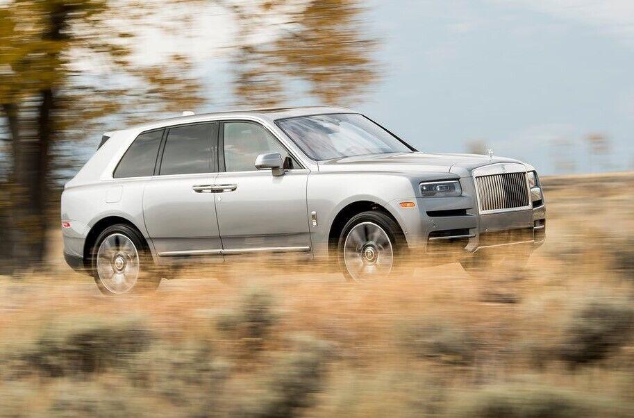Російський Aurus Komendant виглядає як підробка під Rolls-Royce Cullinan