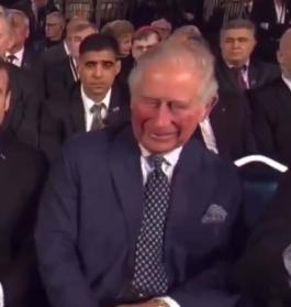 Реакція принца Чарльза на Путіна потрапила на відео