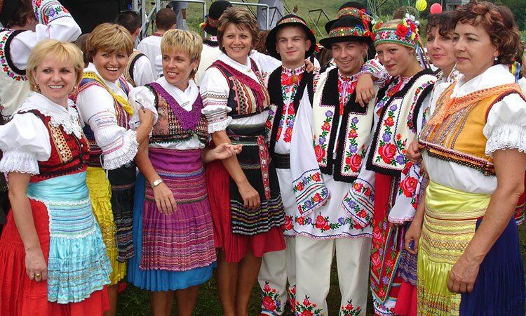 Жители Закарпатья