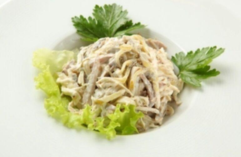Рецепт самого вкусного и сытного салата из мяса